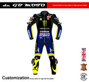 New Rossi 2020 1 Piece Motorbike Racing Monster Leather Suit Ce Approved Armour