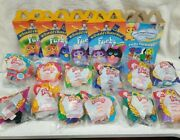 12 Mcdonalds 2000 Furby Animals Happy Meal Toys New In Packages With Boxes