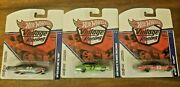 Hot Wheels Vintage Racing Real Riders 3 Car Set - Sam Posey - '64 And '65 Galaxie