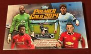 2014-15 Topps Premier Gold Factory Sealed Box -- Salah Vardy Robertson Rcand039s