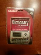Seiko American Heritage Dictionary With Spell Corrector Fourth Edition Wp5600