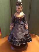 Beverly Walters 12andrdquo Hand Molded Porcelain Fashion Lady Doll And Book One Of A Kind