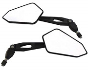 Motorbike Wing Mirrors - Excellent Quality E-marked Ideal For Naked And Supermoto