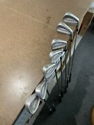 Tommy Armour 855s And 845s Mixed Iron Set 4-8 Iron Sw And Pw
