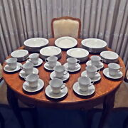 Vintage Noritake Cumberland China Service For 12 W Plates Cups Platter 61 Pieces