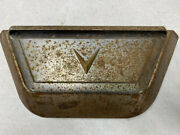 1956 Cadillac Deville Ashtray And Lighter Back Of Front Seat Mount - Oem - Used