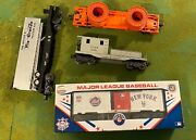 Lionel Model Train Lot.andnbsp New And Used.andnbsp Includes Engine Cars And Accessories.