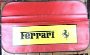 Rare Hard To Find Late 50and039s-early 60and039s Ferrari Automotive Fender Cover - Dealer