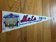 1973 New York Mets National League Champions Photo Pennant