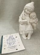 Snowbabies Friendship Club Storytime And Book 68956 Dept 56 1999 Exclusive Piece