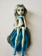 Monster High Frankie Stein Haunt The Casbah 13 Wishes Doll Partial Outfit Flaws