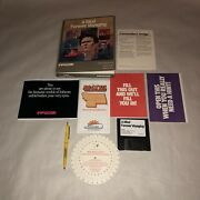 Very Rare Untested Commodore Amiga Game A Mind Forever Voyaging Complete