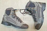 Haix Scout German Army Brown Leather Goretex Vibram Sole Boots Size 11.5 Uk 655