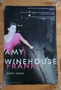 Amy Winehouse Frank/stonger Than Me Record Company Promotional Poster Ultra Rare