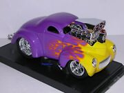 Muscle Machines 1941 Willys Coupe 41 Drag Racing Hemi Limited Release 118