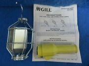 Nib Mcgill 7000-srg Grounded Industrial Extension Light + 1 Year Warranty
