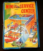 1966 Ideal Toy Lesney Matchbox Sears Mini Service Center With Cars Rare Vintage