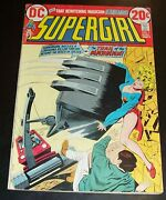 Fnvf Supergirl 1 1972 First Issue Of Her Own Series Zatanna Back Up Story