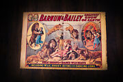 Barnum Bailey's Circus 16.5 X 24.8 Vintage Advertise Poster Reprint 1950's