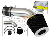 Short Ram Air Intake Kit + Black Filter For 2001-2003 Acura Cl/tl Type-s 3.2l
