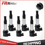 6pcs Ignition Coils For Buick Enclave Lacrosse Cadillac Cts Chevy Vectra Uf375