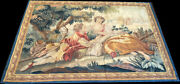 A Superb Antique French Tapestry Romantic Scene