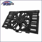 Brand New Radiator Cooling Fan Assembly For Porsche Panamera 3.6l 4.8l 2010-2016