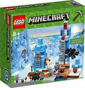 Lego Lego Minecraft Ice Towers Icicles 21131 [parallel Import Goods]