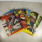 Vintage 1954 Toy Trains Magazine Full Year All 9 Issues, Model Railroads