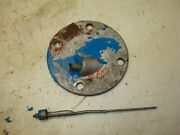 1953 Ford Jubilee Naa Tractor Hydraulic Dipstick Plate Cover