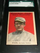 1915 Cracker Jack 1 Otto Knabe Sgc 80 Ex/nm 6 1st Card In The Setbaltimore