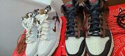 Nike Dunk High Bodega Legend Friends And Family And Gr Pair-both Size 9.5 Ds