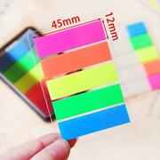 Buy 1 Get 2-promotion-creative Fluorescent Classification Index Sticker2 Sets