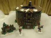 Dept 56 Old Globe Theatre Dickens Village Heritage Collection Mint In Box
