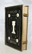 Antique 1908 Czech Bible Related Songbook Brass Edging And Clasps