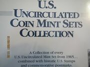 Us Uncirculated Coin Mint Set Collection Complete 1965 To 2000 Super Collection
