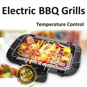 Indoor/outdoor Portable Electric Barbecue Grill Cooking Smokeless Bbq