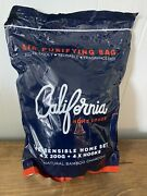 California Home Goods Charcoal Bamboo Purifying Bag Hanging Absorbs Odors