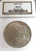 See____1895-o New Orleans Au-53 Ngc U.s. Morgan Silver Dollar-see Other Dollar