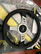 Fiat 500 F/l/r 600 850 124 Bianchina Abarth Steering Wheel Made In Italy Luisi