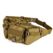 Sports Waist Bag Riding Travel High Leg Pack Outdoor Canvas Military Motorcycle