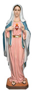 Immaculate Heart Of Mary Blessed Virgin Mother 57 Inch Indoor And Outdoor Statue