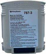 Compatible Pitney Bowes 787-3 Black Postage Machine Ink