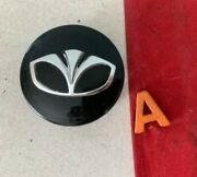 A 1 2002-2005 Daewoo Matiz Black Center Hub Wheel Cap 96452238