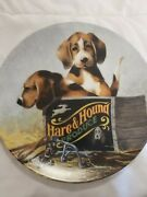 Knowles Kaatz Beagle Boxed In Collectors Plate 1991 Field Trip Series Plate 3