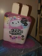 I Dig Monsters Jumbo Popsicle Pack W/ Scented Plush Monji And Mini Suprise - New
