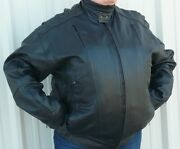 Zap Leather Xroads Men's Big And Tall Motorcycle Jacket Wholesale Avail