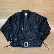 Terminator Leather Jacket Black With Serial Number Postage Included