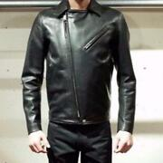 Rats Horsehide Leather Riders Jacket