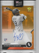 2020 Topps Now Luis Robert All-star Rookie Team On Card Auto Rc-03e And039d 3/5 Wsox
